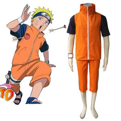 Naruto Uzumaki Naruto 3 Cosplay Kostymer
