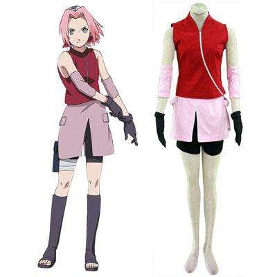 Costumi Carnevale Naruto Shippuden Haruno Sakura 2 Cosplay