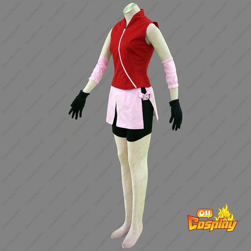 Naruto Shippuden Haruno Sakura 2 Cosplay костюми