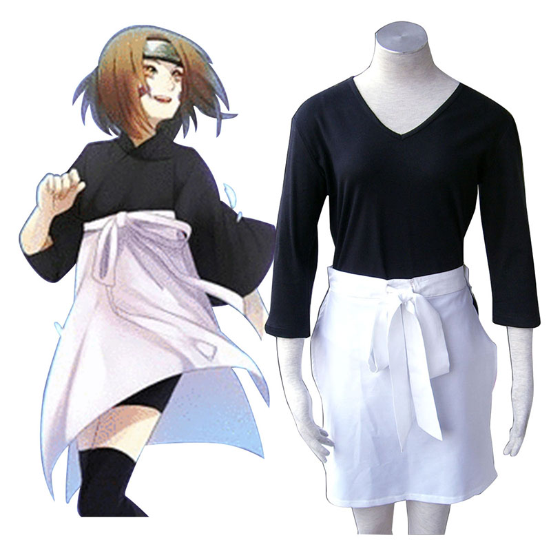Naruto Nohara Rin Cosplay Kostymer