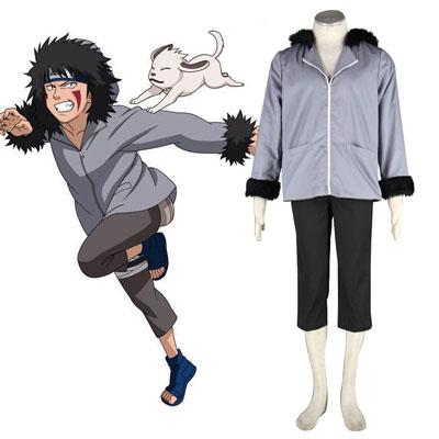 Naruto Inuzuka Kiba 1 Cosplay Kostym