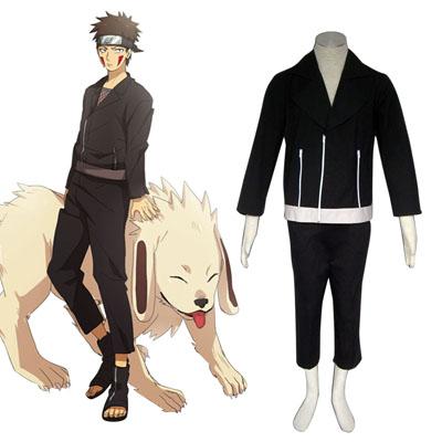 Naruto Shippuden Inuzuka Kiba 2 Cosplay Kostym