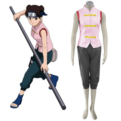 Naruto Tenten 1ST Cosplay Costumes Deluxe Edition