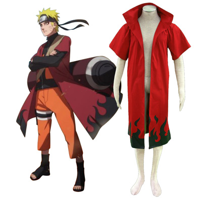 Naruto Uzumaki Naruto 6TH Cosplay Costumes