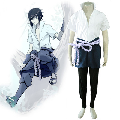Naruto Sasuke Uchiha 4TH Cosplay Costumes