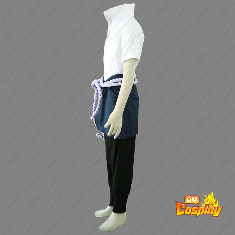 Naruto Sasuke Uchiha 4 Cosplay Kostymer