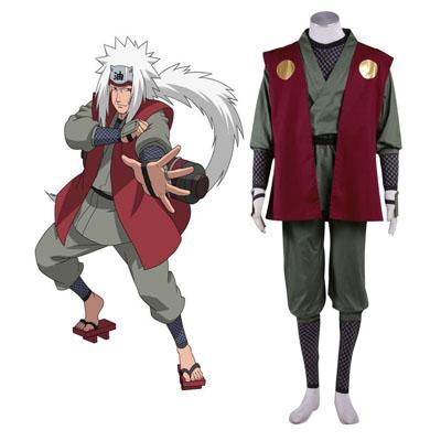 Naruto Jiraiya 1ST Cosplay Costumes