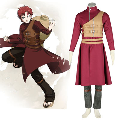 Naruto Shippuden Gaara 6TH Cosplay Costumes