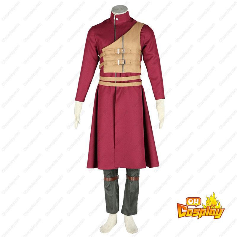Naruto Shippuden Gaara 6 Cosplay Kostymer