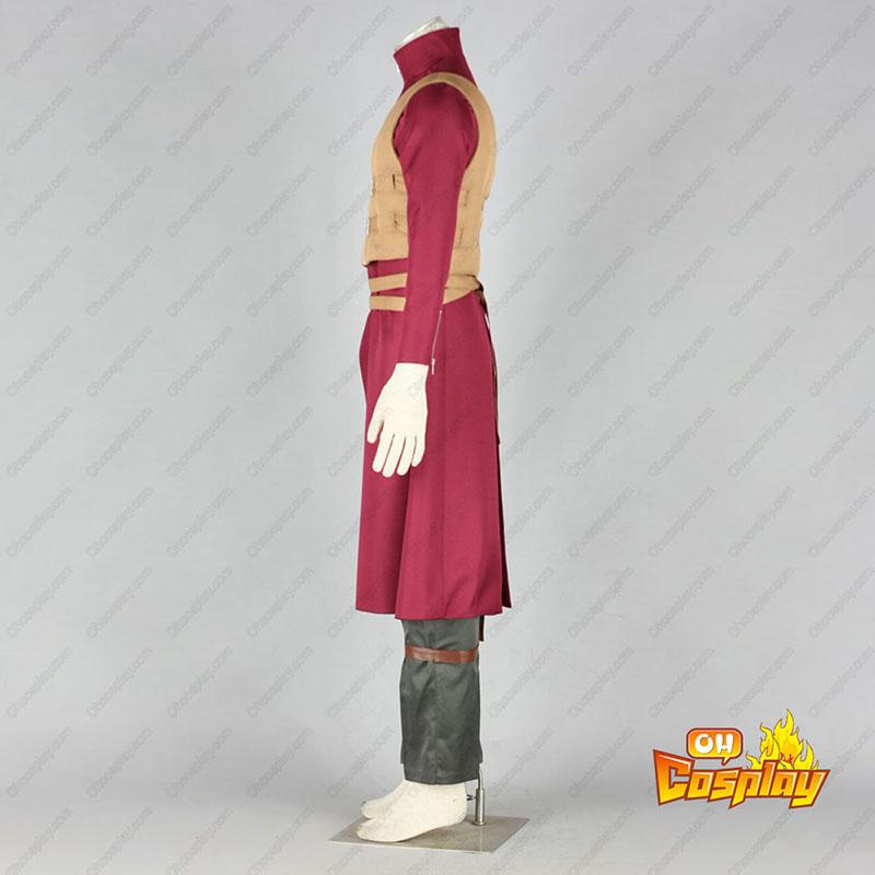 Naruto Shippuden Gaara 6 Traje Cosplay