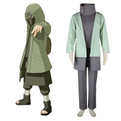 Naruto Shippuden Aburame Shino 2 Traje Cosplay