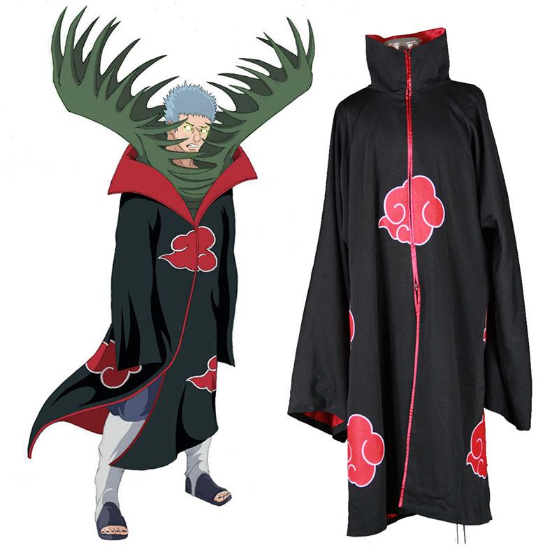 Naruto Akatsuki Organization 2 Traje Cosplay