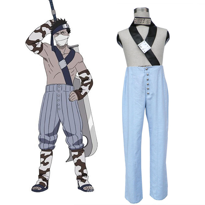 Naruto Momochi Zabuza 1 Traje Cosplay