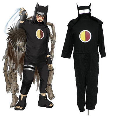 Naruto Kankuro 1 Cosplay Kostym