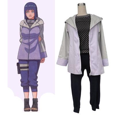 Naruto Hyūga Hinata 3 Cosplay Kostym