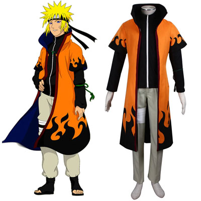Naruto Sixth Hokage Naruto Uzumaki 5TH Cosplay Costumes