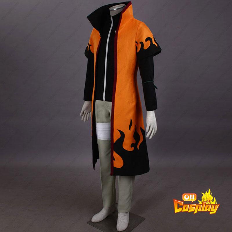 Naruto Sixth Hokage Naruto Uzumaki 5 Traje Cosplay