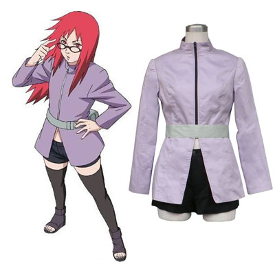 Naruto Karin 1ST Cosplay Costumes Deluxe Edition