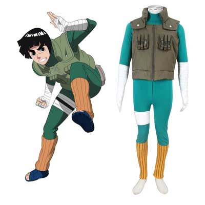 נארוטו Shippuden Rock Lee 2 תחפושות קוספליי