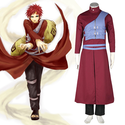 Naruto Shippuden Gaara 7TH Cosplay Costumes