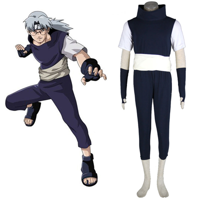 Naruto Yakushi Kabuto 1ST Cosplay Costumes