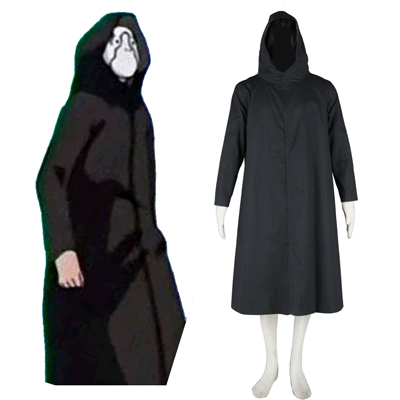 Naruto ANBU Cloak 2ND Black Cosplay Costumes