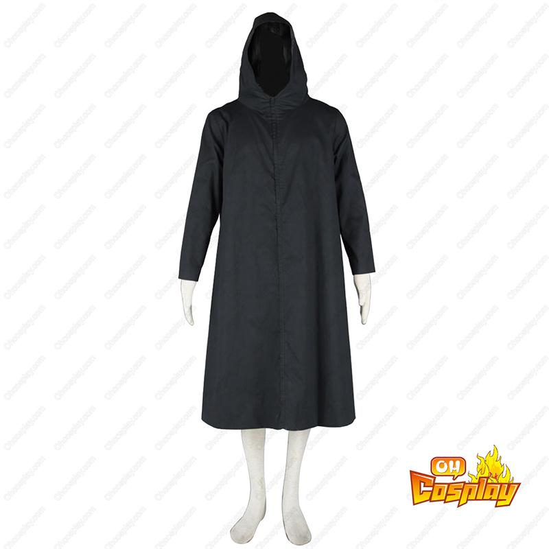 Naruto ANBU Cloak 2 Preto Traje Cosplay