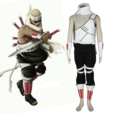 Naruto Killer B 1 Cosplay Kostym