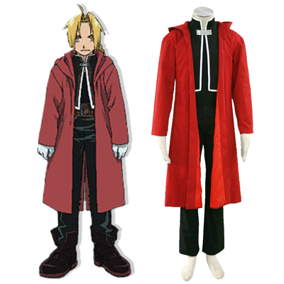 Fullmetal Alchemist Edward Elric 1 Cosplay Costumes UK