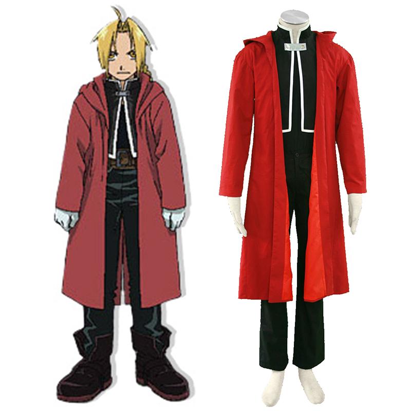 fullmetal alchemist edward elric 1st cosplay costumes