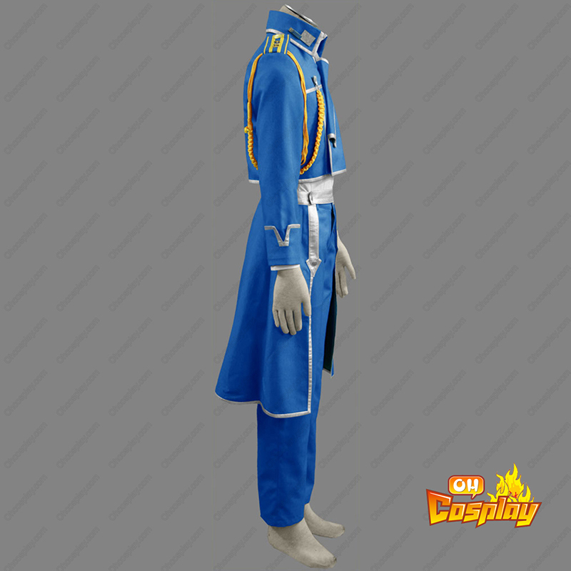 Fullmetal Alchemist Male Military Uniform Cosplay Kostymer