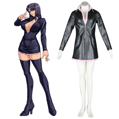 One Piece Nico·Robin 2ND Green Cosplay Costumes Deluxe Edition