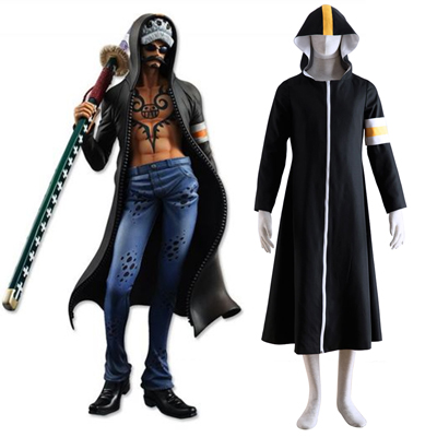 One Piece Surgeon of Death Trafalgar Law 1ST Cosplay Costumes Deluxe Edition