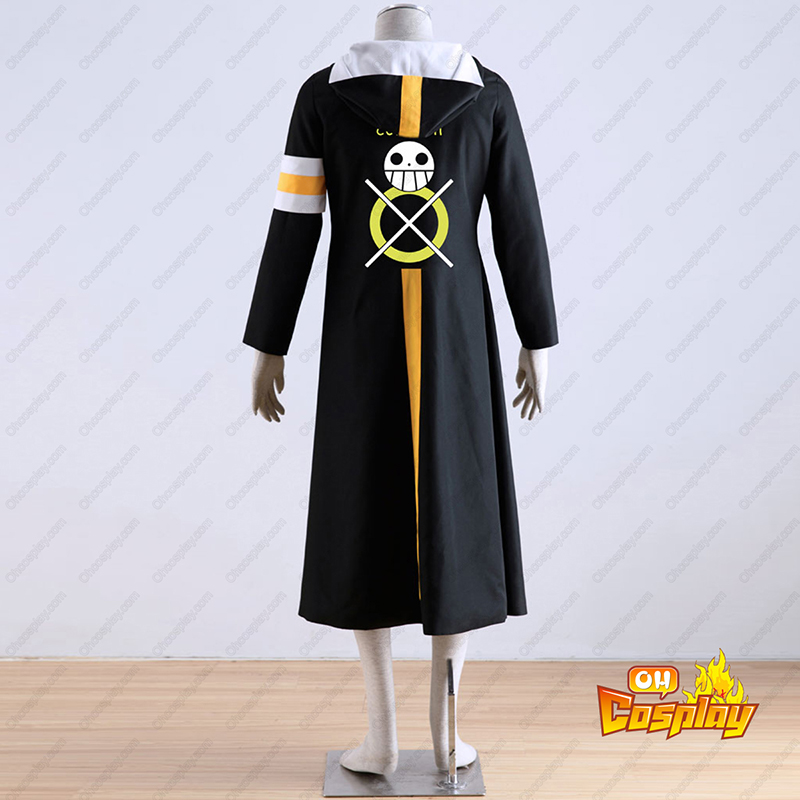 One Piece Surgeon of Death Trafalgar Law 1 Traje Cosplay