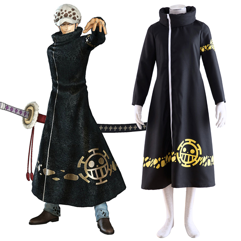One Piece Trafalgar Law 2 Cosplay Kostymer