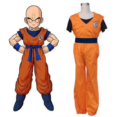 Déguisement Costume Carnaval Cosplay Dragon Ball Krillin