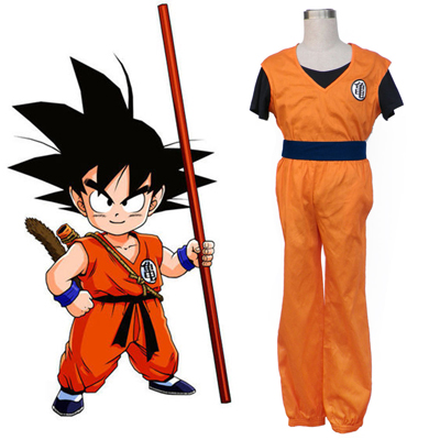 Dragon Ball Son Goku 1ST Cosplay Costumes