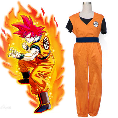 Dragon Ball Son Goku 2 Cosplay Puvut