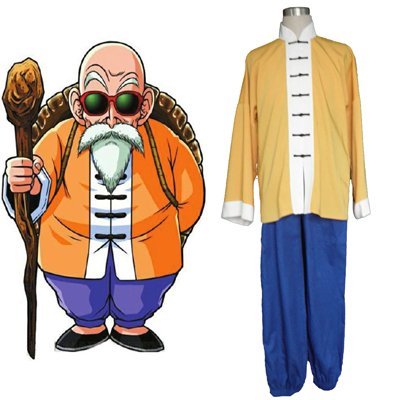 Costumi Carnevale Dragon Ball Kame-Sennin 1 Cosplay