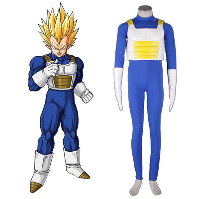 Costumi Carnevale Dragon Ball Vegeta 3 Cosplay