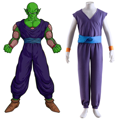 Dragon Ball Piccolo 1 Purple Cosplay Kostymer