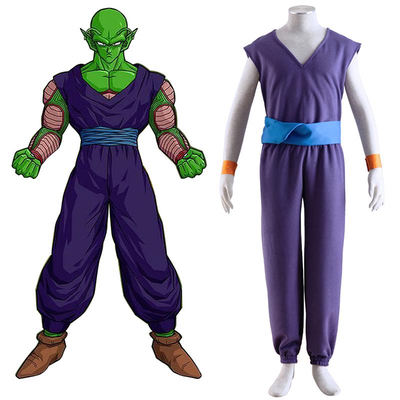 Dragon Ball Piccolo 1 Purple Κοστούμια cosplay