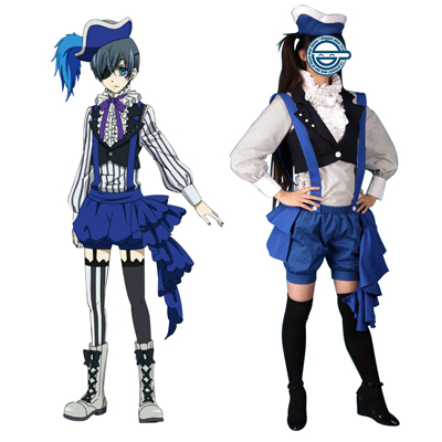 Black Butler Ciel Phantomhive 2ND Cosplay Costumes Deluxe Edition