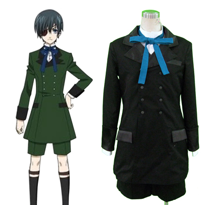 Black Butler Ciel Phantomhive 4TH Cosplay Costumes Deluxe Edition