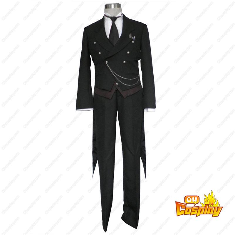 Black Butler Sebastian Michaelis 1 Κοστούμια cosplay