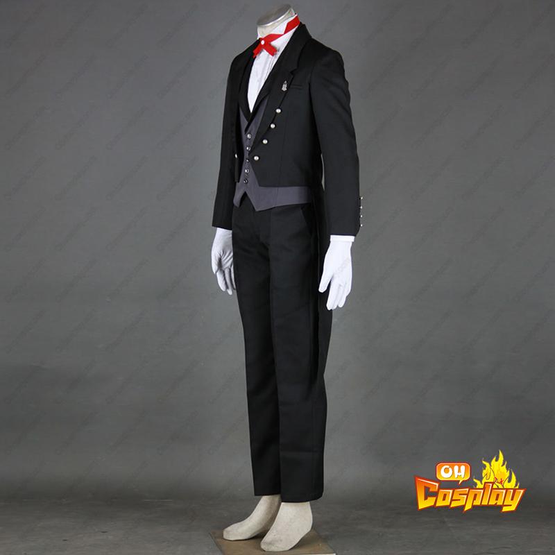Black Butler Sebastian Michaelis 2 Traje Cosplay