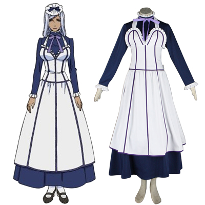 Black Butler Hannah Annafellows 1 Maid Cosplay Costumes UK
