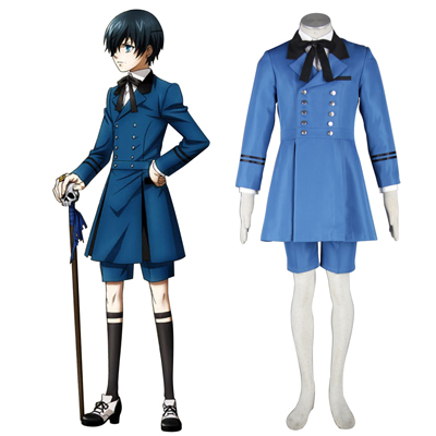 Black Butler Ciel Phantomhive 5TH Cosplay Costumes Deluxe Edition