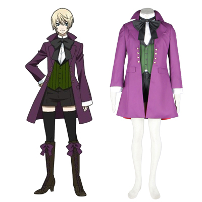 Black Butler Alois Trancy 1ST Cosplay Costumes Deluxe Edition
