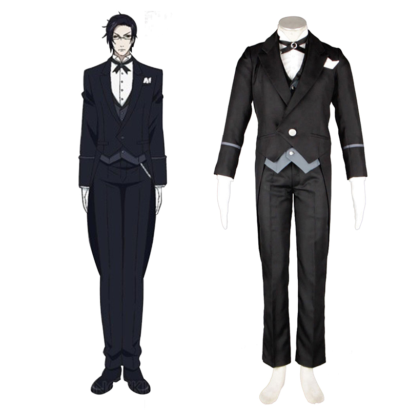 Black Butler Claude Faustus 1 Κοστούμια cosplay